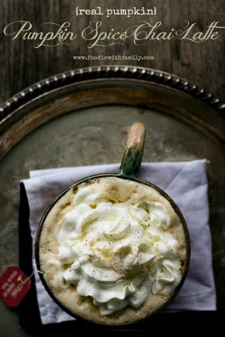 Pumpkin Spice Chai Latte a