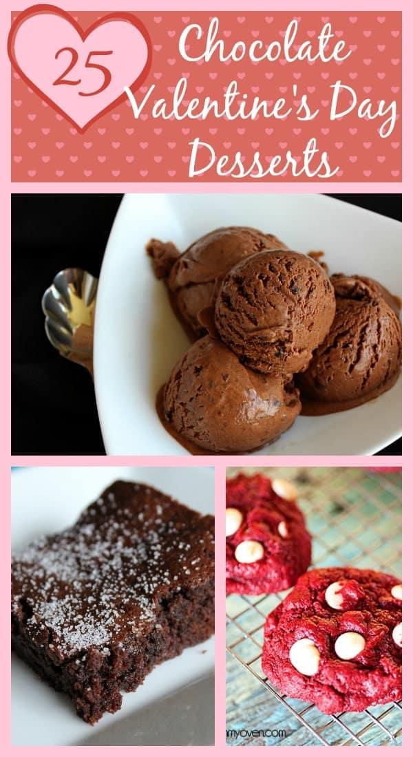 25 decadent chocolate valentine 39 s day desserts rachel cooks for Valentine s day desserts for a crowd