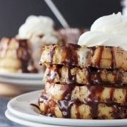 Bailey's Spiked French Toast on BeyondFrosting.com
