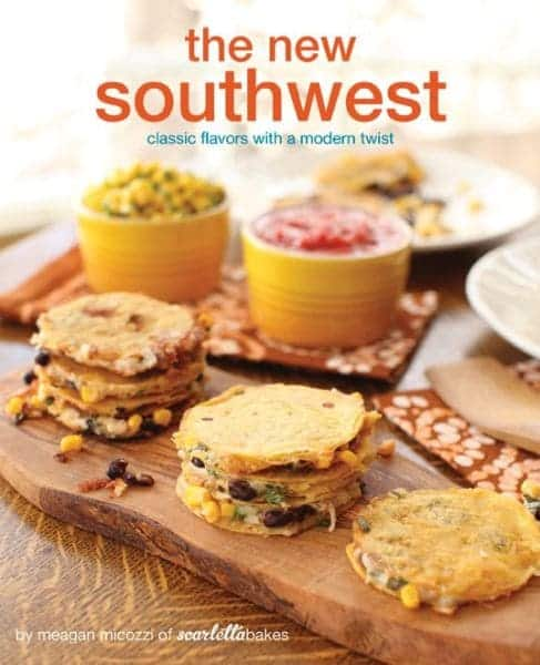 Pictured is The New Southwest cookbook cover.