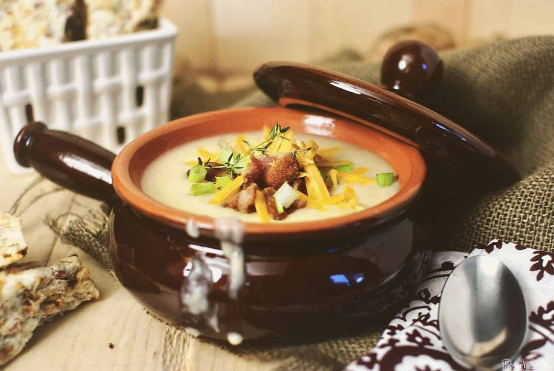 Loaded Potato Soup from PassTheSushi.com