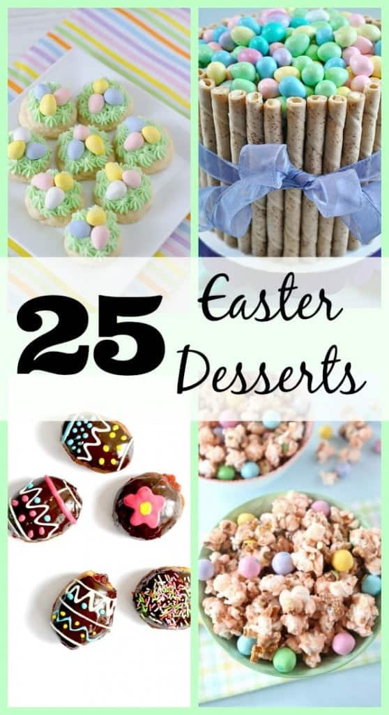 25 Easter Desserts on RachelCooks.com