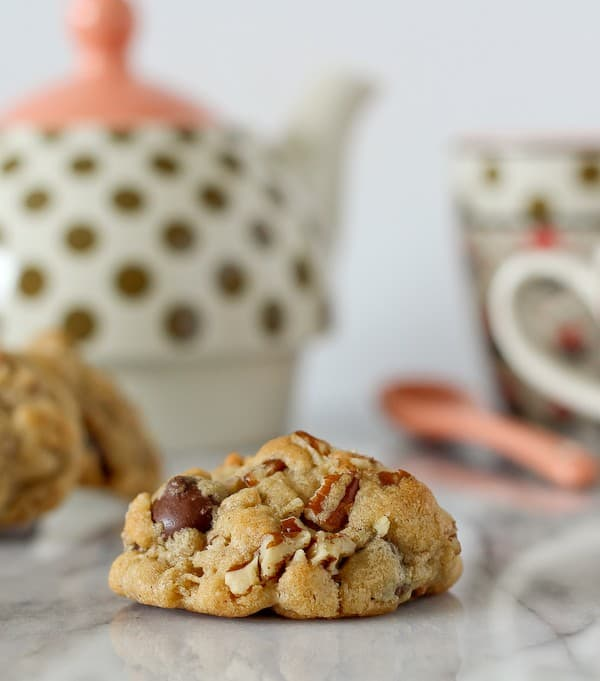Dark Chocolate and Pecan Cookies on RachelCooks.com