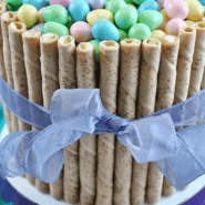 30 Minute Easter Basket Cake from SomethingSwanky.com