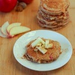 Thumbnail image for Apple Spice Quinoa Pancakes {giveaway!}