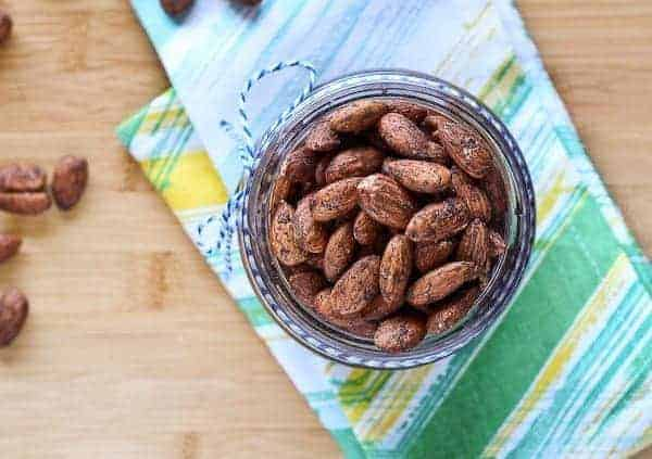 Sugar Free Cinnamon Roasted Almonds