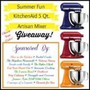 win a KitchenAid mixer!