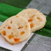 Shortbread Cookies with Apricot, Pine Nuts, Honey and Lemon - On RachelCooks.com