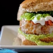 Taco Turkey Burger Recipe on RachelCooks.com