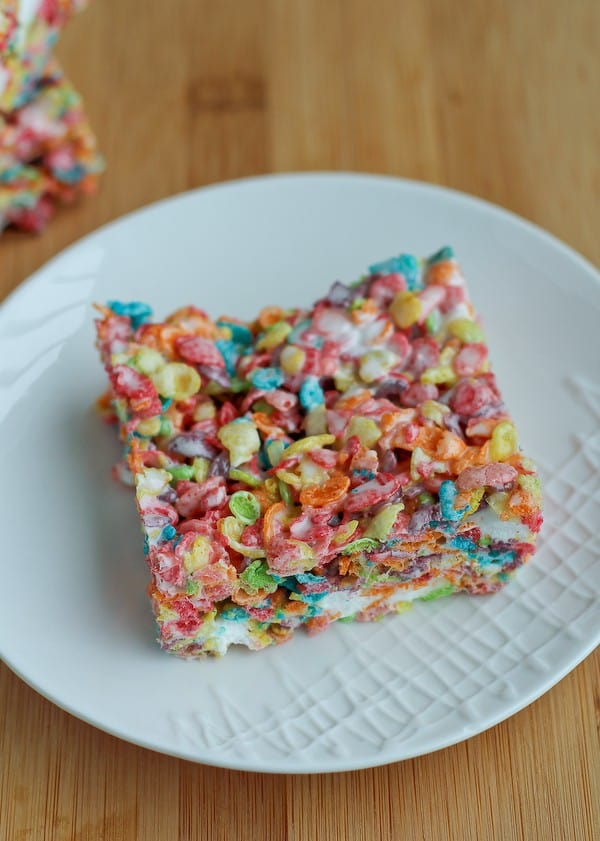 Fruity Pebbles Treats on RachelCooks.com