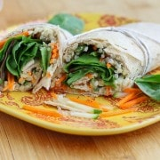 Quinoa Hummus Wrap on RachelCooks.com
