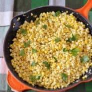 Best Sauteed Fresh Corn Recipe -- On RachelCooks.com