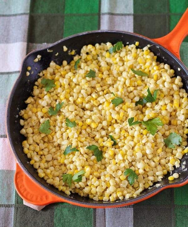 Best Sauteed Fresh Corn Recipe -- On RachelCooks.com