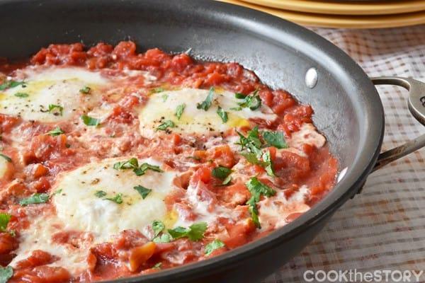 Italian Egg recipe from CooktheStory,com
