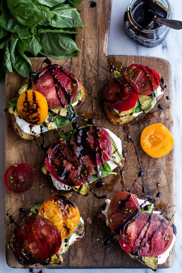 Grilled Caprese from HalfBakedHarvest.com