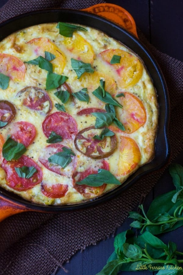 Perfect for brunch, everyone will love this colorful polenta quiche perfect for summer. And you'll love the unique crust! Get the recipe on RachelCooks.com!