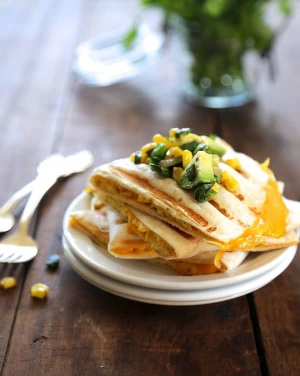 Egg Quesadilla from ClimbingGrierMountain.com