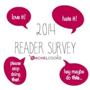 2014 Rachel Cooks Reader Survey