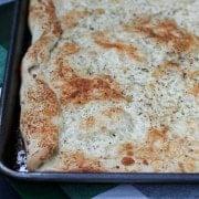 Cheesy Flatbread Pizza