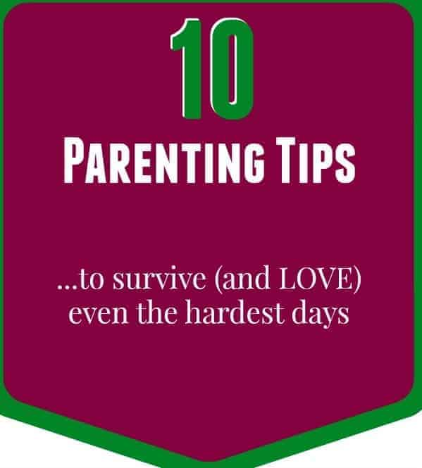 10 Parenting Tips -- Because we all need a little (or a lot) of help. - Find them on RachelCooks.com