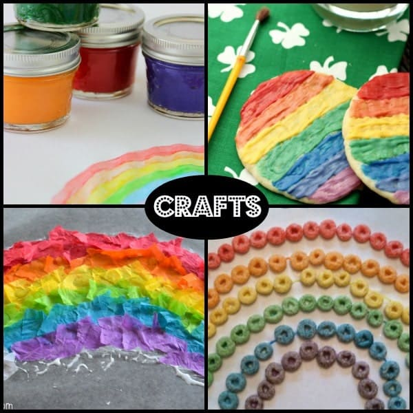 Rainbow Themed Crafts - RachelCooks.com
