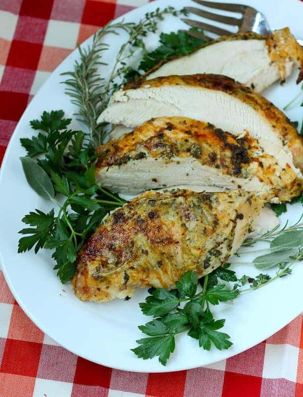 Herb Roasted Turkey Breast by Rachel Gurk | Epicurious ...