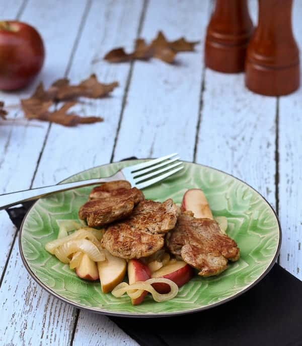 This pork tenderloin with apples is a perfect fall time meal — it ...