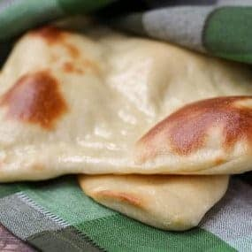 Easy Naan Recipe - RachelCooks.com