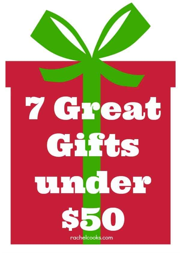 7 Great Gift Ideas Under 50 Dollars Find Them On Rachelcooks