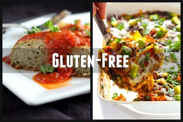 gluten-free meal ideas for new parents