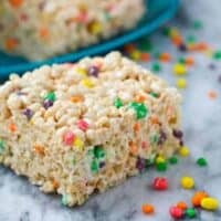 Nerds Rice Krispie Treats