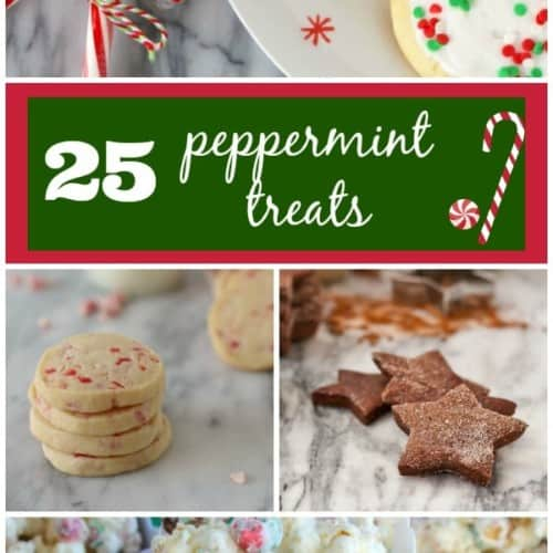 25 Peppermint Recipes perfect for Christmas - from popcorn to cookies, it's all on RachelCooks.com!
