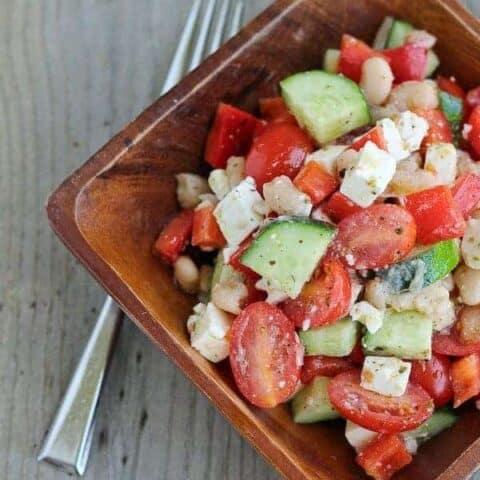 Greek Chopped Salad Recipe