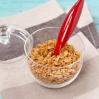 Crunchy Oat Topping