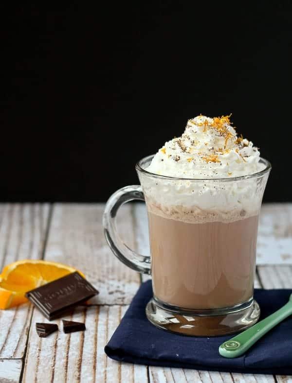 Orange Hot Chocolate Recipe - Easy! - Rachel Cooks®