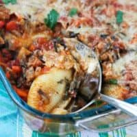 Vegetable Packed Stuffed Shells