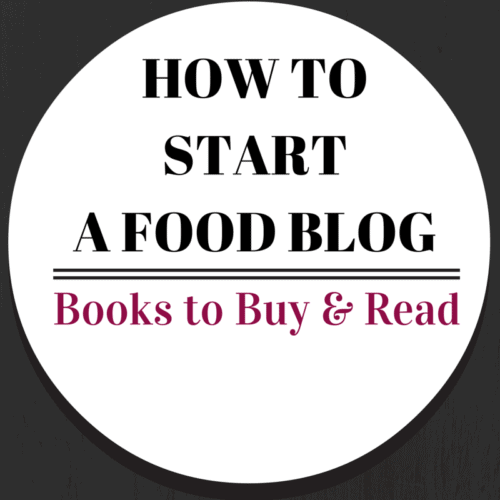 How to start a food blog - Books to Buy and Read - put these essentials on your list! Get them on RachelCooks.com