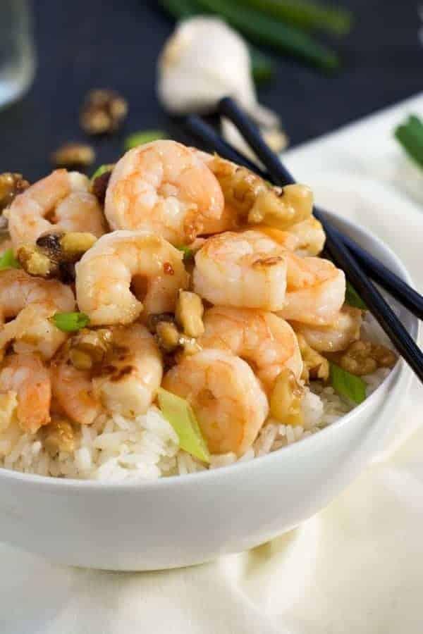 Honey Walnut Shrimp Recipe - get it on RachelCooks.com