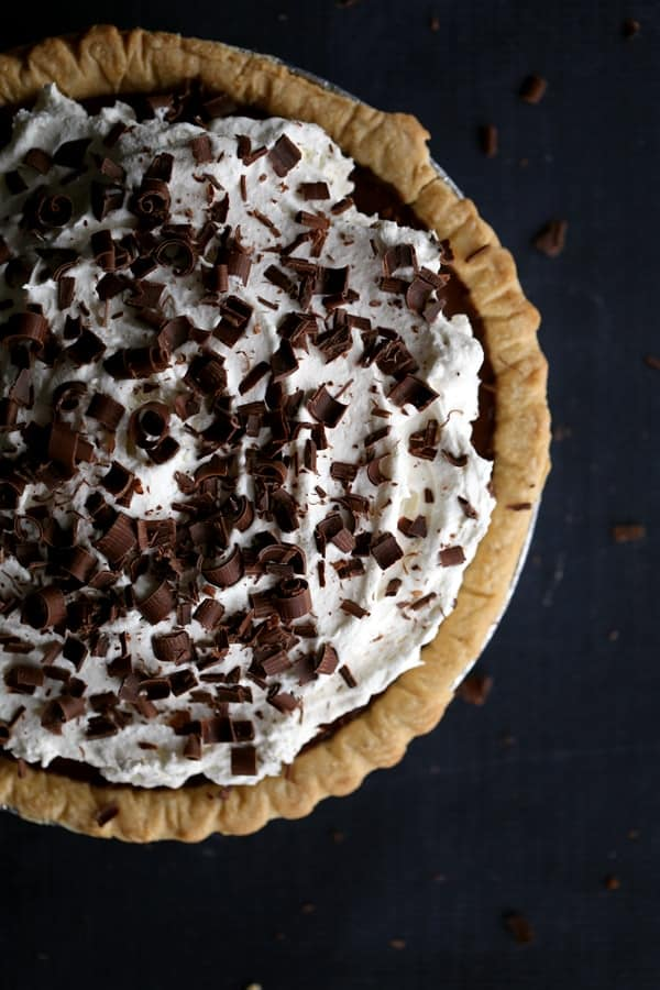 Rachel Cooks Chocolate Pudding Pie Recipe - Rachel Cooks