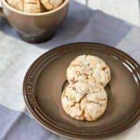 Double Cinnamon Crinkle Cookies