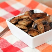 Easy Marsala Roasted Mushrooms on RachelCooks.com