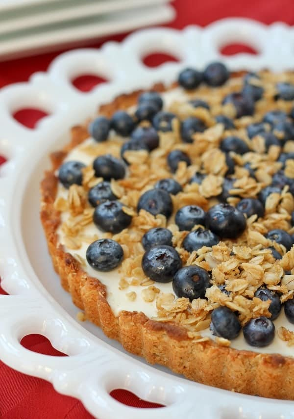 Yogurt Tart with Oat Crust - Rachel Cooks®