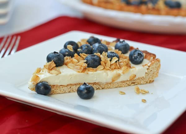 Yogurt Tart with Oat Crust and Crunchy Oat Topping - Get the recipe on ...