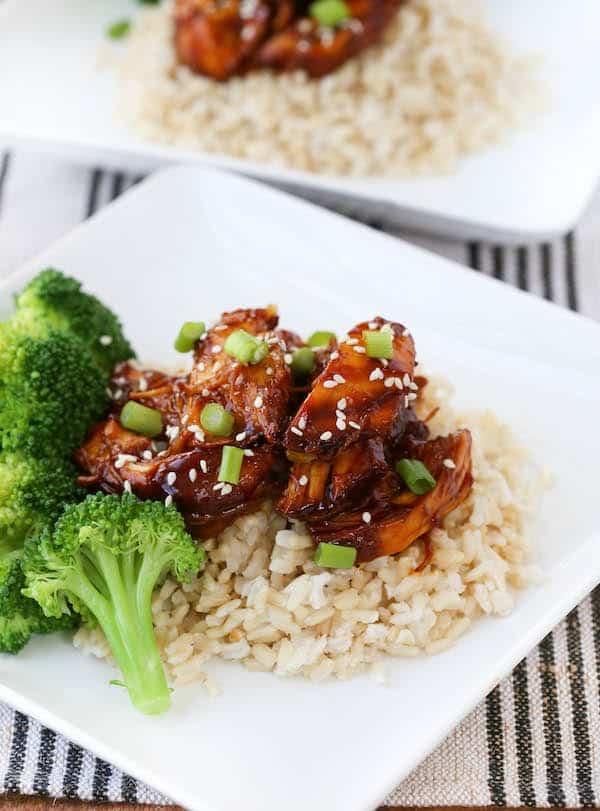 Crock Pot Teriyaki Chicken Recipe With Video Rachel Cooks
