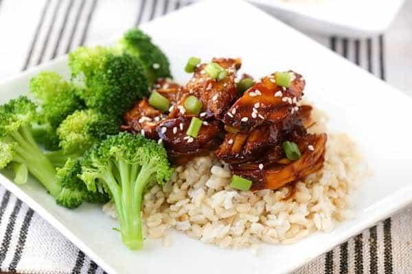 Slow Cooker Chicken Teriyaki - Get the recipe on RachelCooks.com