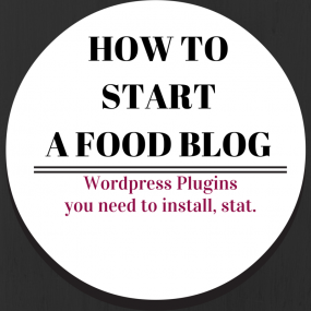 Wordpress Plugins You Need! A guide to food blogging on RachelCooks.com