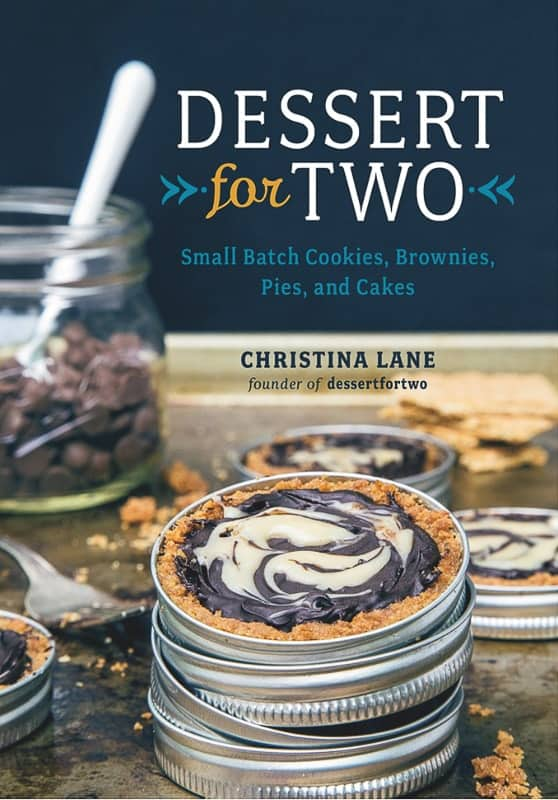 Image displays cover of book, Dessert for Two, by Christina Lane.