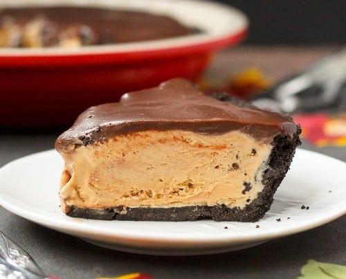 Irish Coffee Ice Cream Pie with Whiskey Ganache - Get the easy recipe on RachelCooks.com!