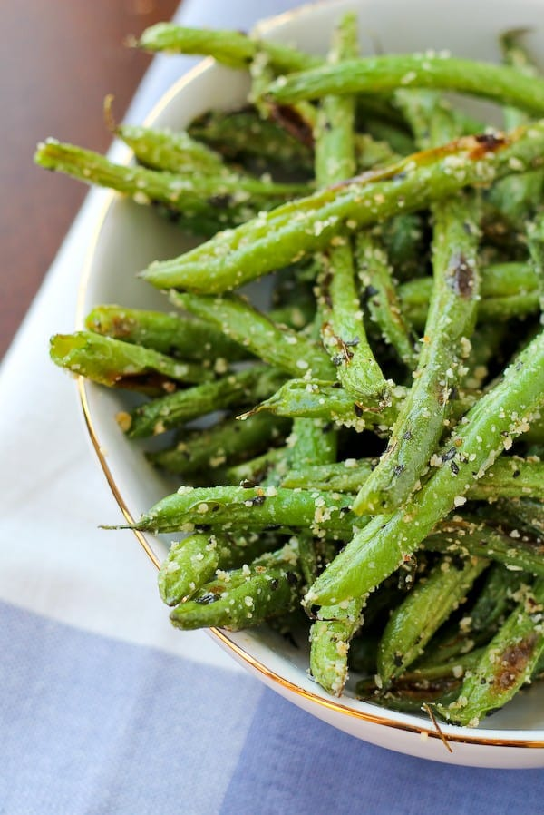 Rachel Cooks Roasted Green Beans with Parmesan and Basil - Rachel ...