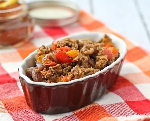 Healthy Taco Meat - Find the easy recipe on RachelCooks.com - this one is a crowd pleaser!